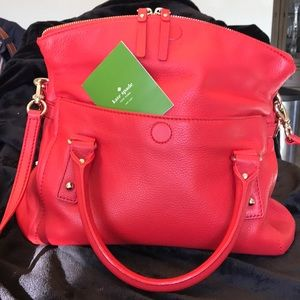 New without tags Kate Spade Bag with duster Bag